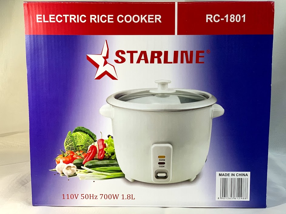 Starline Rice Cooker Khemlani Mart