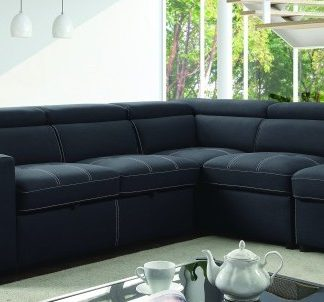 sectional, furniture, living room